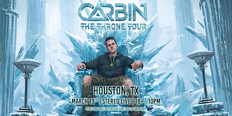 Carbin - Stereo Live Houston tickets