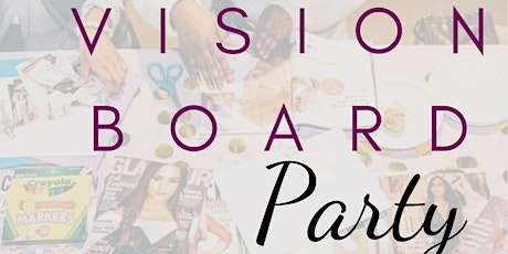 MJB Holistic Hair Care Vision Board Party! tickets