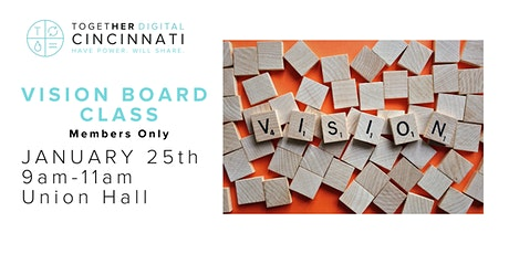 Cincinnati Together Digital Vision Board Class tickets