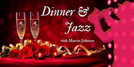 Dinner & Jazz with Jazz Legend Marcus Johnson tickets