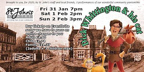 St. John's community Pantomime tickets