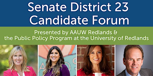 State Senate District 23 Candidate Forum