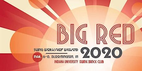 2020 Big Red Swing Dance Workshop Weekend tickets