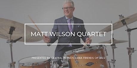 Matt Wilson Quartet tickets