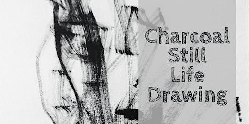 Charcoal Still Life Drawing