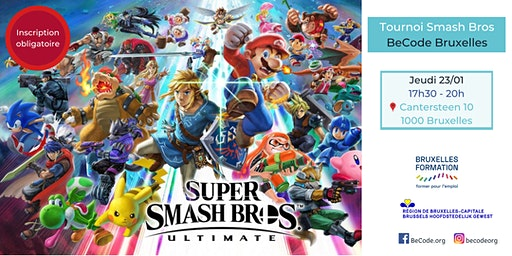 BeCode Bruxelles - Tournoi Super Smash Bros Ultimate®️