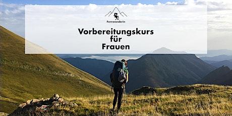 Fernwandern  - Vorbereitungskurs für Frauen Tickets
