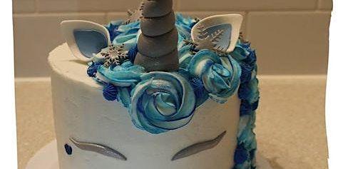 Children's Winter Wonderland cake decorating class