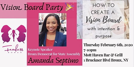 Sipping with a VISION - 2020 Vision Board Workshop tickets