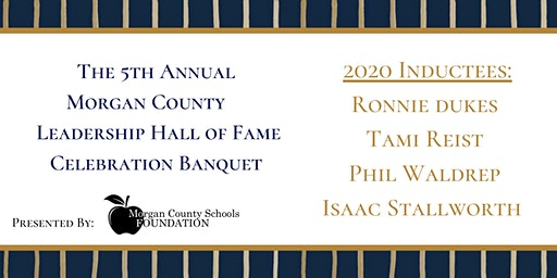 5th Annual Morgan County Leadership Hall of Fame Celebration Banquet