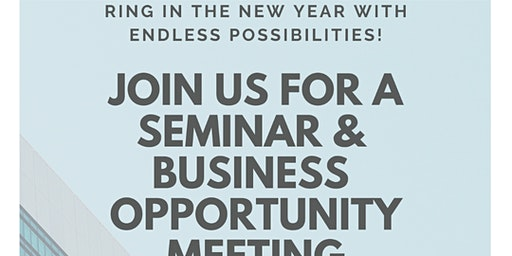 Life Insurance Seminar & Business Opportunity Meeting