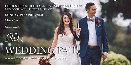 Leicester Guildhall & St Martins House Wedding Fair tickets