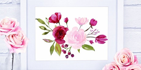 Watercolor Floral Painting tickets