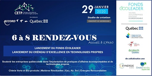 6@8 Rendez-Vous: Double lancement (Fonds Écoleader et CETP)