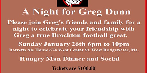 A night for Greg Dunn