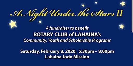 Rotary Club of Lahaina - A Night Under The Stars II