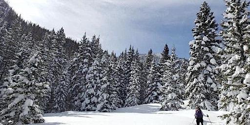 Women Who Explore New Mexico Snowshoeing