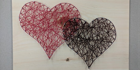 Valentines Day Heart String Art Workshop tickets