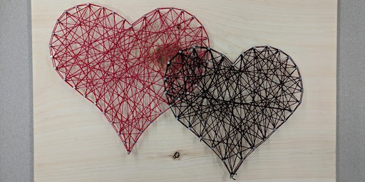 Valentines Day Heart String Art Workshop