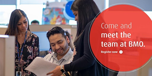 BMO- Recruiting event- Contact Center Roles- Come meet with us January 23rd