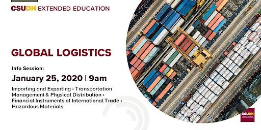 Info Session: Global Logistics Certificate | CSUDH