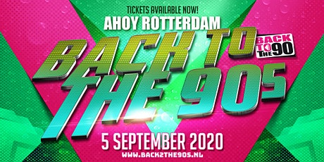 Back 2 the 90's  | 5 September  2020 tickets