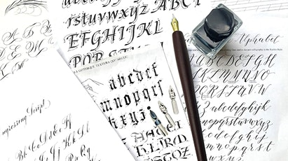 NYC Modern Calligraphy with Pointed Pen tickets