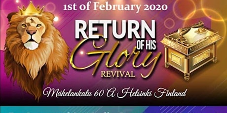 Return Of His GLORY tickets