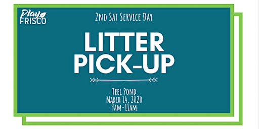 2nd Sat Service Day: Litter Pick-Up