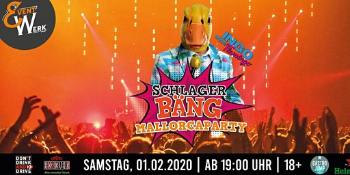 "Mallorcaparty ""SchlagerBÄNG"" mit Ingo ohne Flamingo"
