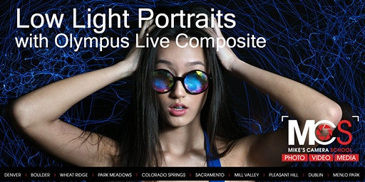 Low Light Portraits with Olympus Live Composite