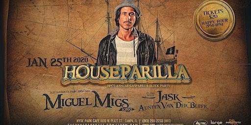 Houseparilla presents Miguel Migs