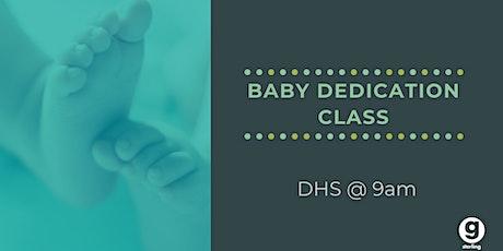 Baby Dedication Class tickets