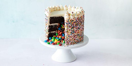 Candy Filled Confetti Cake Decorating | Saskatoon tickets