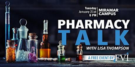 Pharmacy Talk with Lisa Thompson tickets