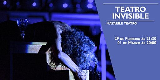 TEATRO INVISIBLE de Matarile Teatro na Sala Ártika