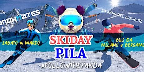 Skiday a PILA •skibus da Milano e Bergamo tickets