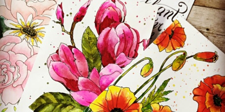 Botanical Illustration in Watercolors tickets
