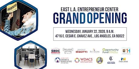 East Los Angeles Entrepreneur Center Grand Opening entradas