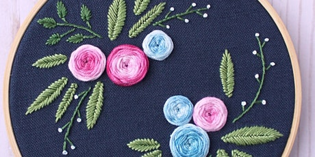 Modern Embroidery Art and Embroidered Patches tickets