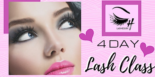 Lashed by H: 4 day Lash Extension Class at The Beauty Bar of Sac- DEPOSIT