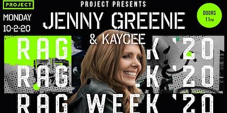 Project Presents: Jenny Greene & Kaycee (Rag Week' 20) tickets