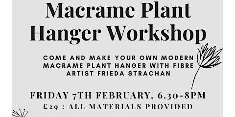 Make a Modern Macrame Plant Hanger w/ Frieda Strachan