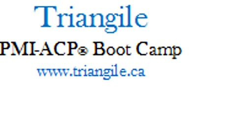 PMI-ACP® Exam prep Boot Camp - Ottawa, Ontario tickets