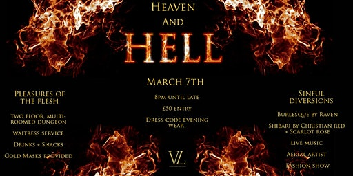 Heaven And Hell Masquerade Ball