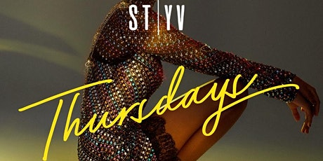 SAINT THURSDAYS at STYV Nightclub tickets