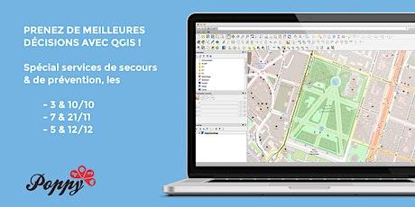 Prenez de meilleures décisions grâce à la cartographie avec QGIS ! tickets