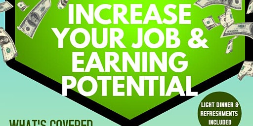 Increase Your Job & Earning Potential