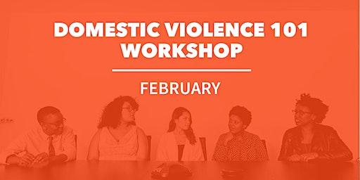 February Domestic Violence 101 Workshop