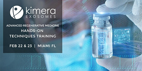Advanced Regenerative Medicine, Hands-on Techniques Training tickets